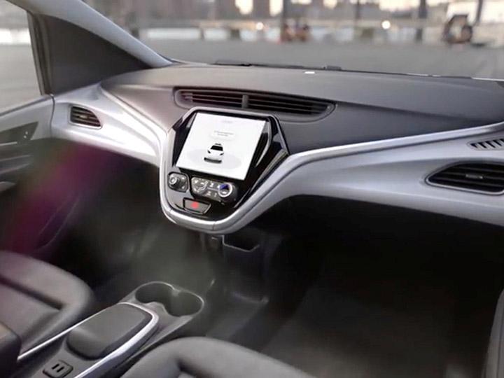 Chevrolet prepara auto sin volante