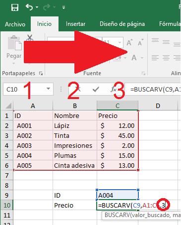 Cómo Usar La Fórmula Buscarv Vlookup En Excel