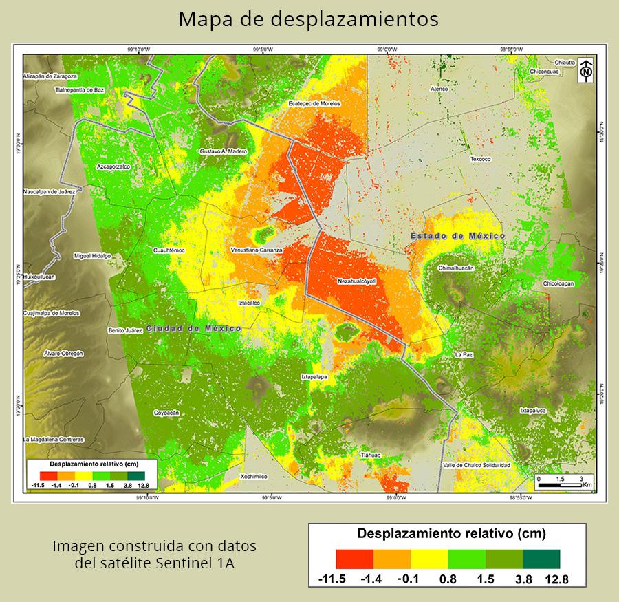 El hundimiento de la CDMX tras los sismos de septiembre
