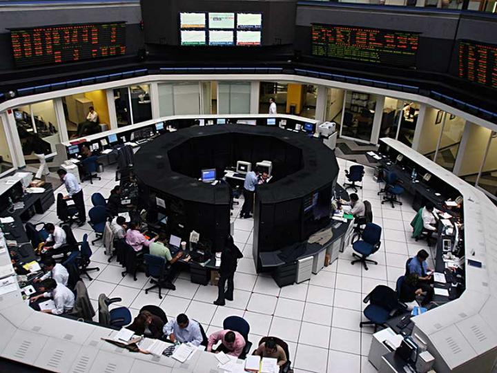 La bolsa mexicana perdía en sus primeras operaciones del miércoles. Foto: Archivo