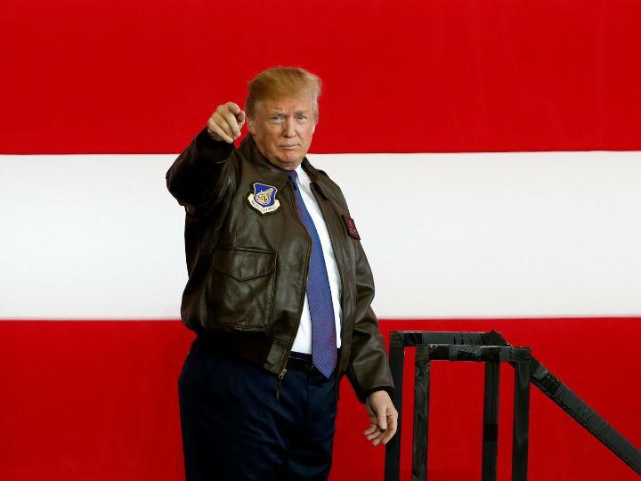 Donald Trump, presidente de Estados Unidos. Foto: Reuters