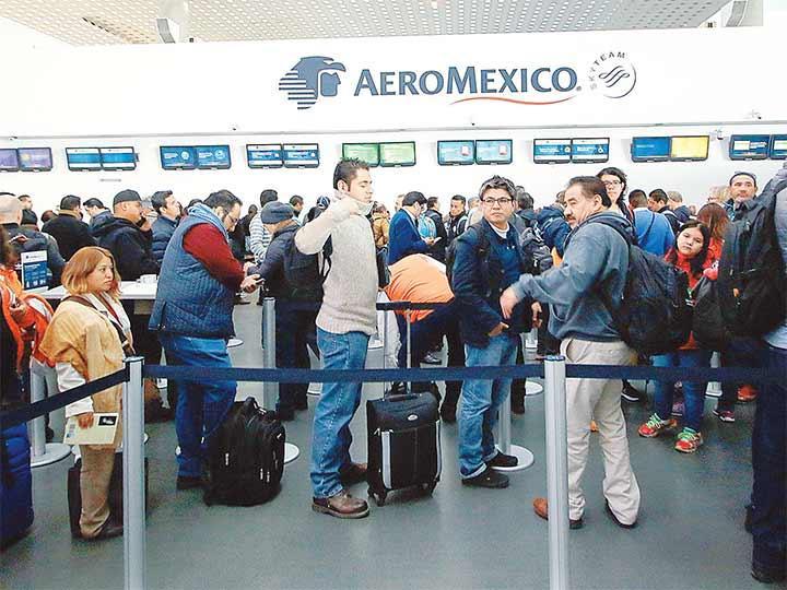 Guadalajara afectada por el paro de pilotos
