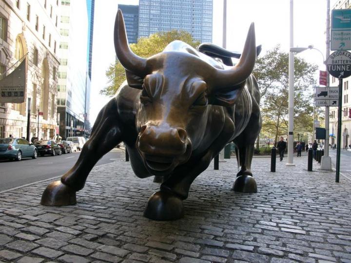 El Dow Jones subía 95.62 puntos. Foto: Archivo