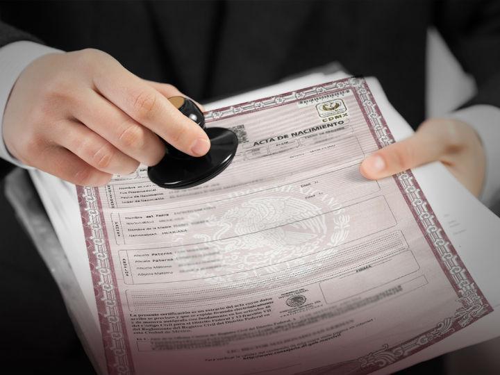 Solotienes que acceder al sitio www.gob.mx/actas, para realizar este trámite. Foto: Archivo