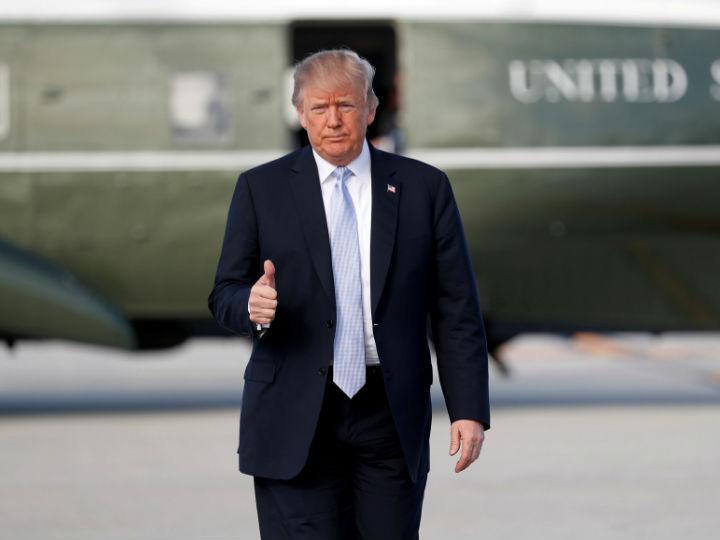 Donald Trump, presidente de los Estados Unidos. Foto: Reuters