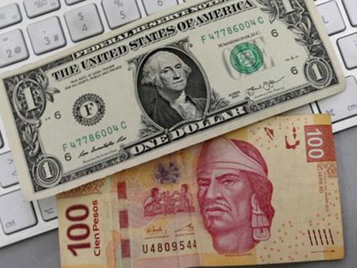 Peso hila sexta sesión al alza; dólar se vende hasta en $18.37
