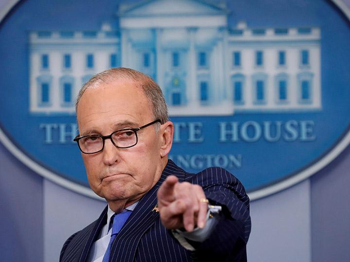 Larry Kudlow, asesor económico de la Casa Blanca sufre ataque cardíaco
