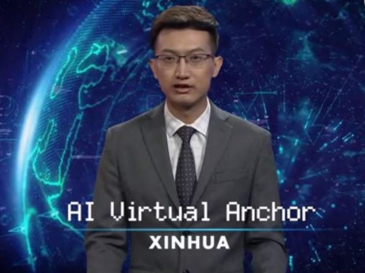 Debuta en China el primer conductor de noticiero virtual