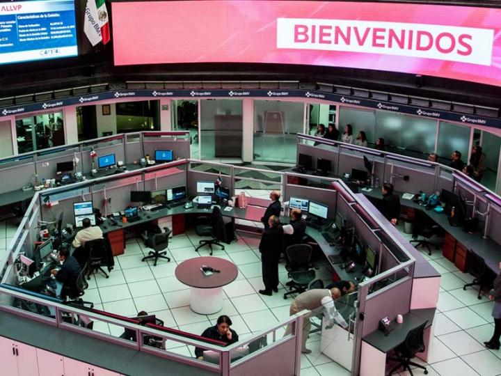 Bolsa Mexicana de Valores registra ganancia de 0.36%