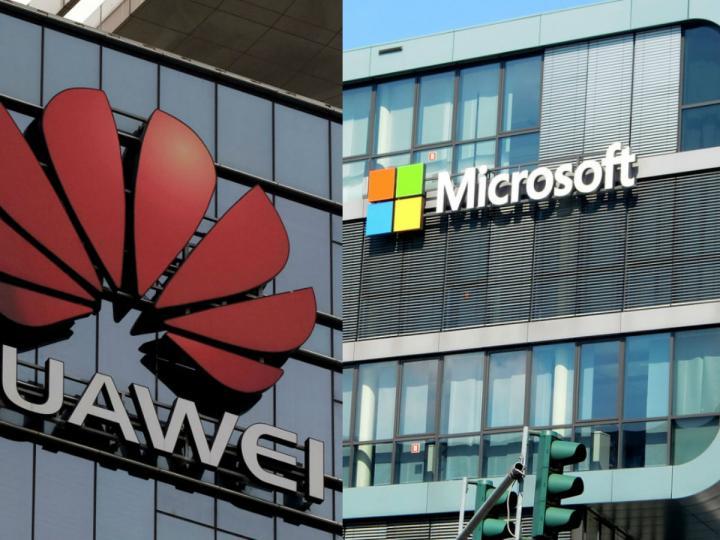 Microsoft elimina los productos Huawei de su tienda en línea