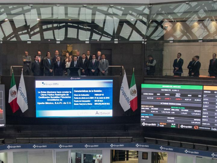 Bolsa Mexicana regresa a terreno negativo, baja 0.55 por ciento