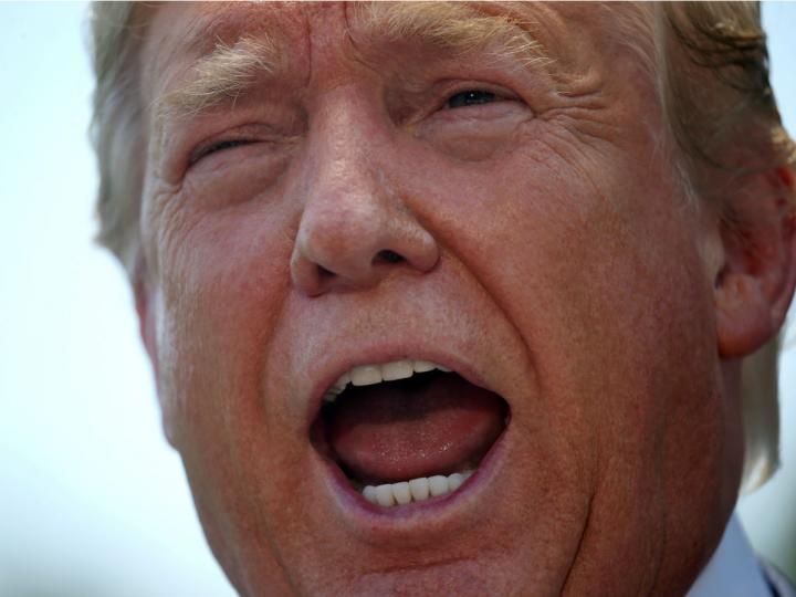 Minimiza Trump proceso de juicio en su contra