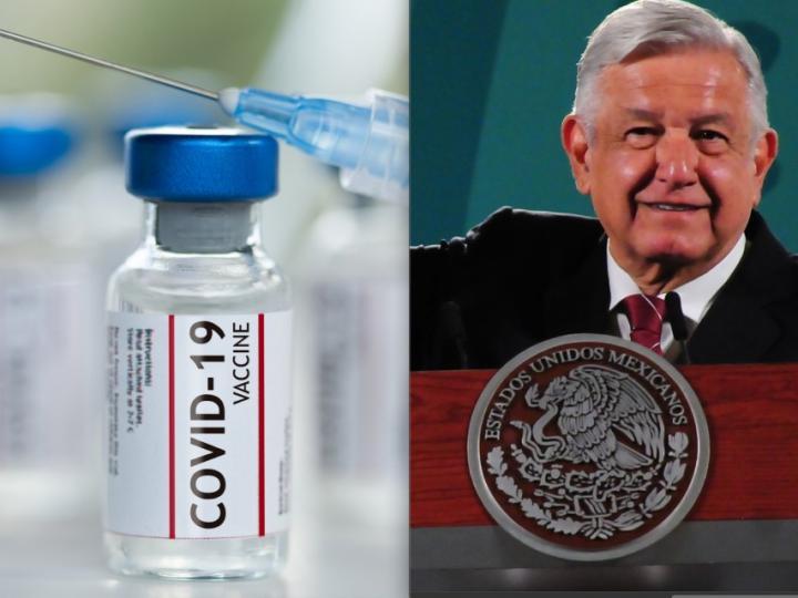 Vacunación de menores de 60 años podría iniciar en mayo, prevé AMLO