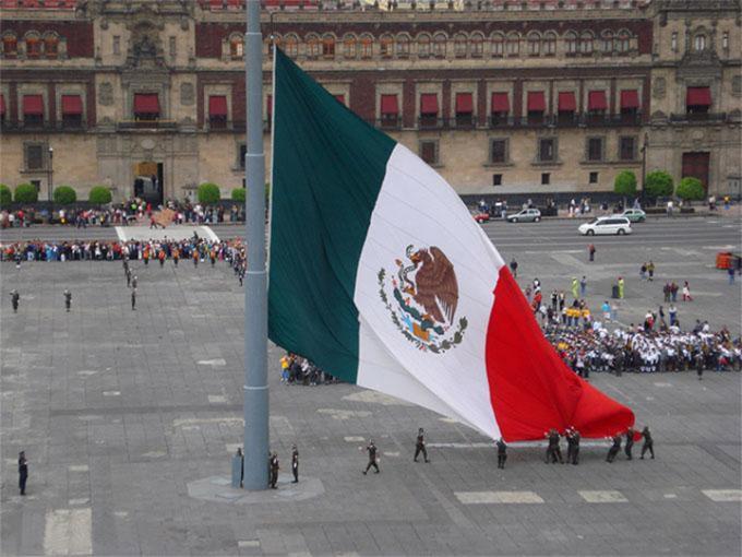 fotos de la bandera de mexico