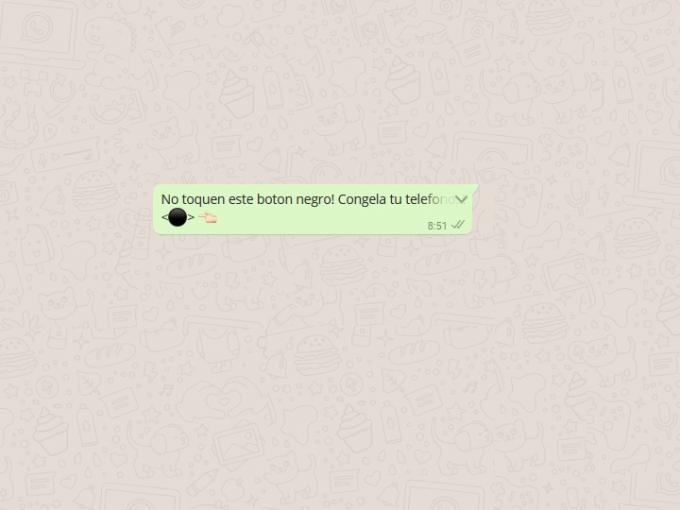 No Toques El Botón Negro Así Funciona La Nueva Mala Broma De Whatsapp