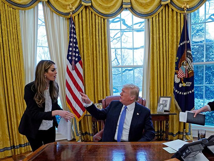 Renunció Hope Hicks, la directora de Comunicaciones de Donald Trump