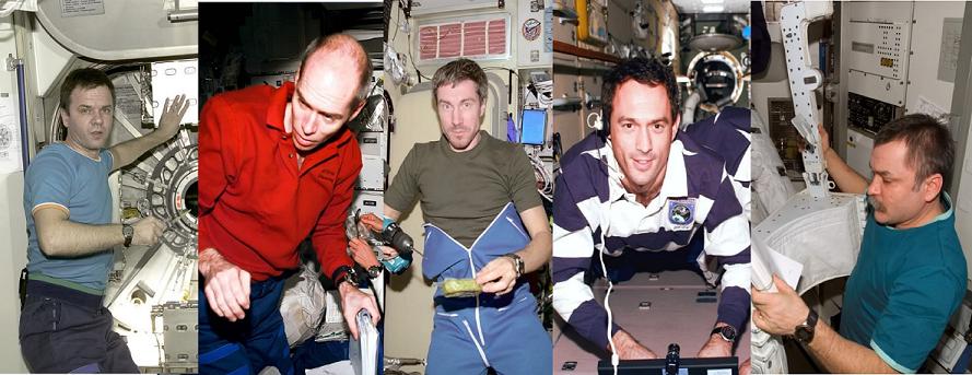 imagen timex   astronautas con reloj timex - ¿Cuál fue el primer reloj GPS?
