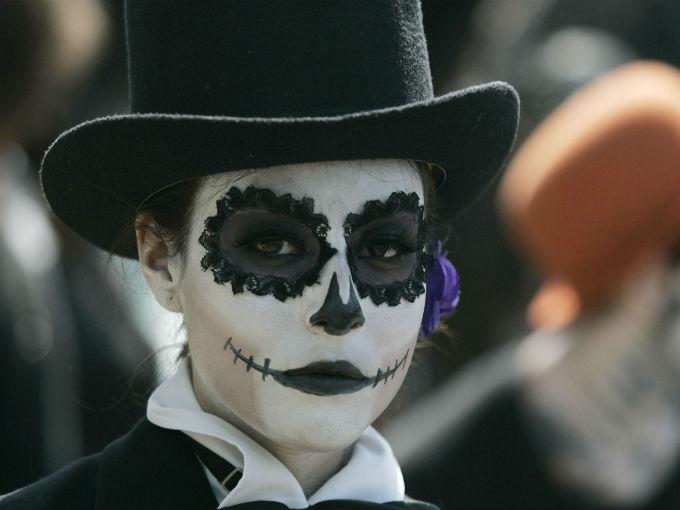 Dia de Muertos En Mexico.