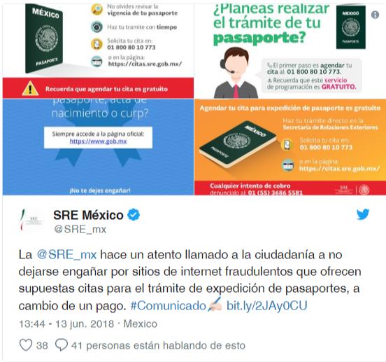 Pasaporte Ordinario Mexicano Primera vez Mayores de Edad