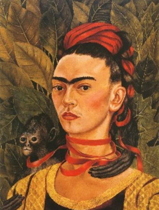 Obras De Arte Famosas De Frida Kahlo Frases De Clarice Lispector