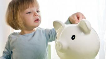 La infancia es la mejoretapa para fomentar buenas actitudes relacionadas con el dinero. Foto: Especial