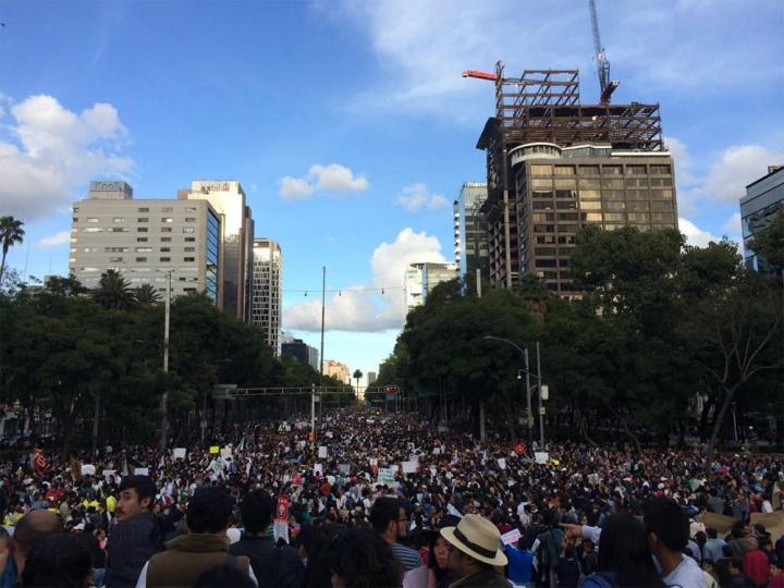 Conoce las rutas de las marchas que habrá hoy en todo México