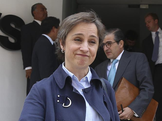 Carmen Aristegui pierde batalla legal contra MVS