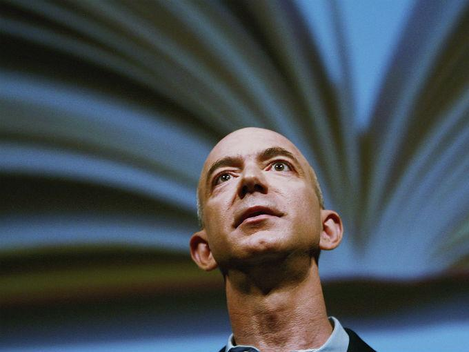 Jeffrey Bezos CEO de Amazon. Foto: Getty