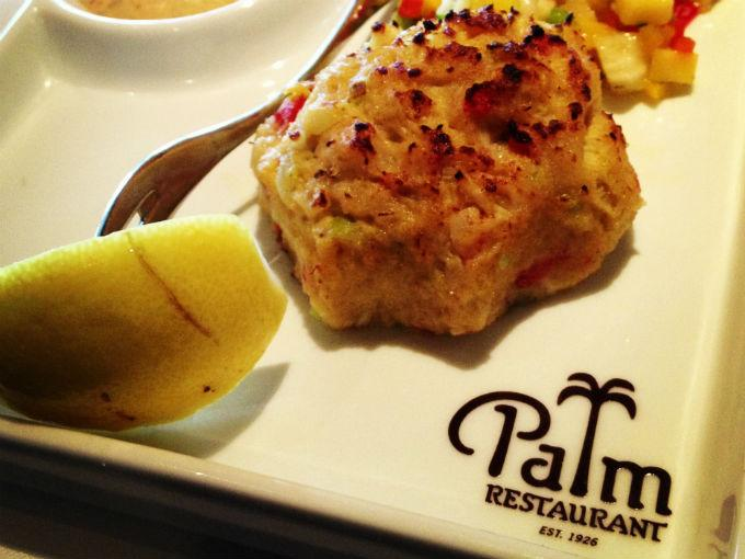 Crab Cake en The Palm Santa Fe. Foto: Pablo Escobedo