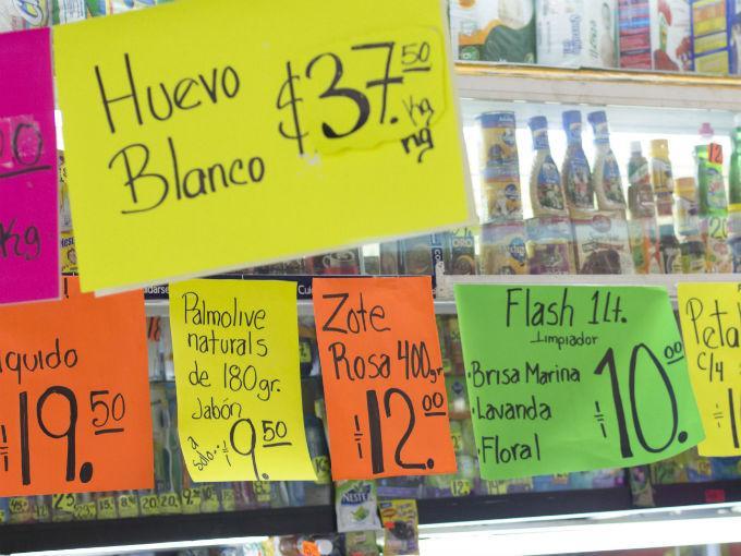 La inflación anual de México se ubicó en 3.36% a octubre. Foto: Cuartoscuro