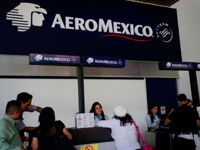 Aeroméxico deja la terminal de Toluca. Getty