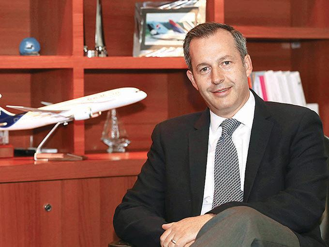 Andrés Conesa, director general de Aeroméxico, subrayó que el entendimiento fue entre la empresa y la organización laboral. Foto: Karina Tejada / Archivo