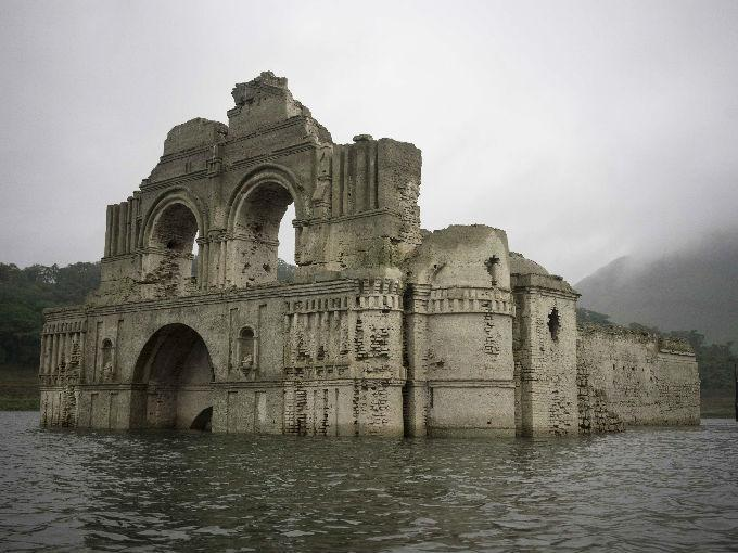 Iglesia en Chiapas sorprendió al emerger de un río [GALERÍA]