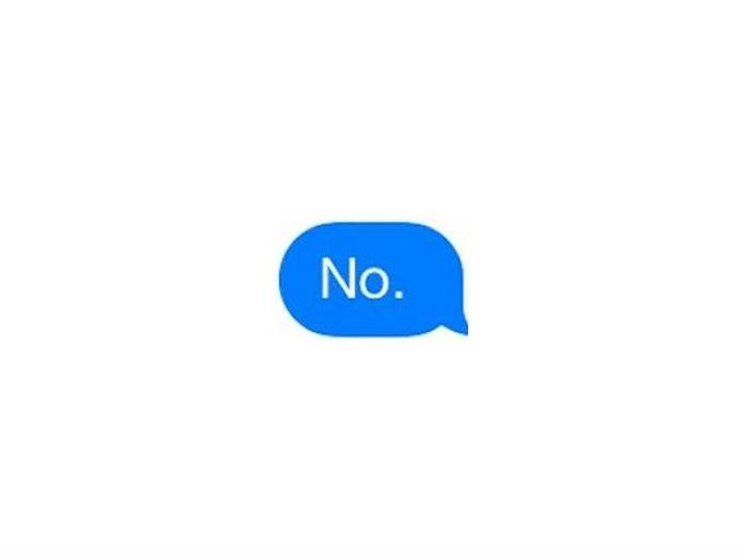 ¿Terminar tus mensajes con un punto te hace grosero?
