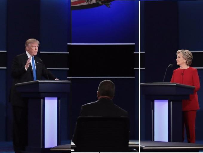 Las 10 frases más importantes del debate entre Trump y Hillary