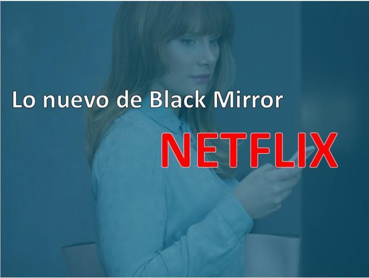 Black Mirror y otros 24 estrenos esta semana en Netflix