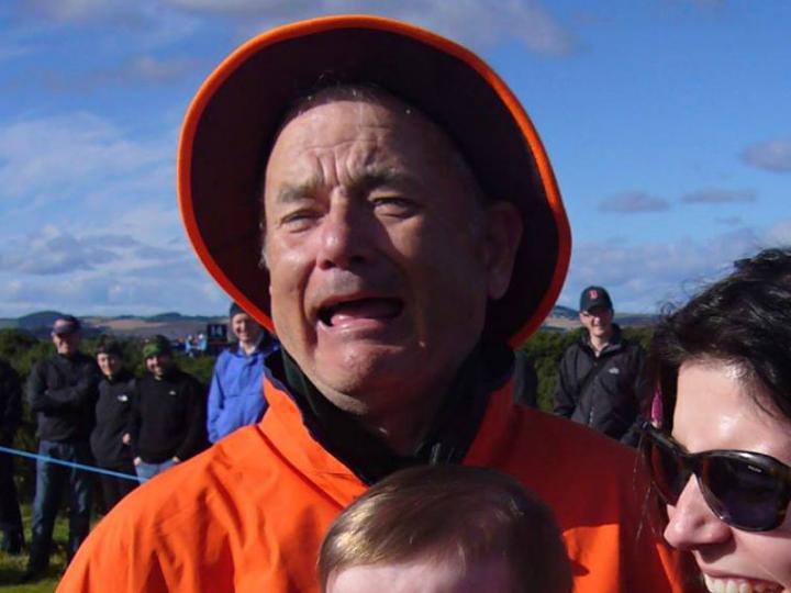 La nueva foto viral que enloqueció a Internet: ¿Tom Hanks o Bill Murray?