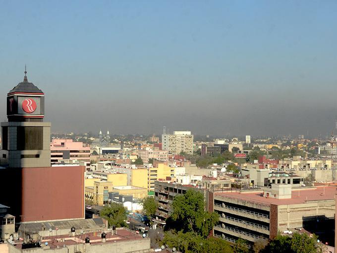 En las delegaciones Azcapotzalco, Venustiano Carranza de la Ciudad de México; así como en los municipios mexiquenses de Chalco, Tepotzotlán, Ecatepec de Morelos, Tlanepantla de Baz, Tultitlán y Coacalco se registran índices mayores a 102 puntos Imeca. Foto: Cuartoscuro