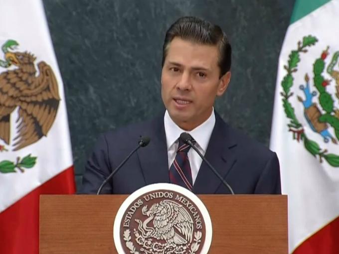 Peña dijo que México buscará que se mantenga el esquema de libre comercio en Norteamérica. Foto: YouTube.