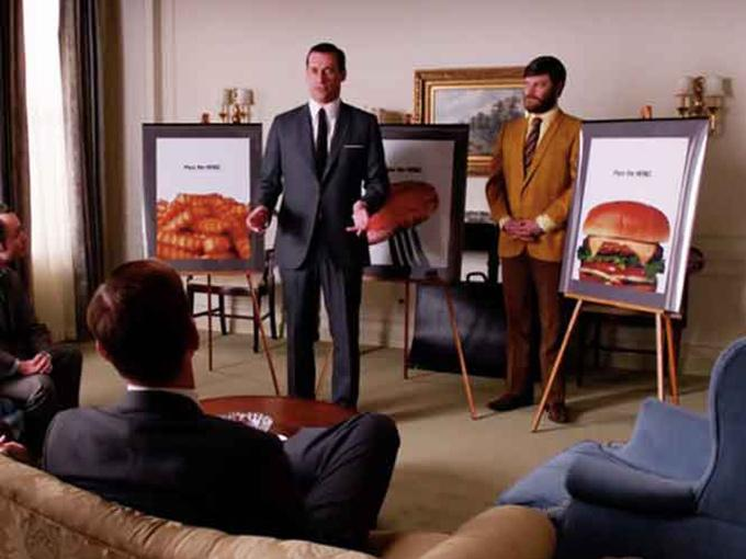 Heinz finalmente aceptó la memorable campaña publicitaria que Don Draper. Foto: Captura de Youtube
