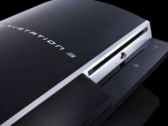 PlayStation 3. Imagen: Sony
