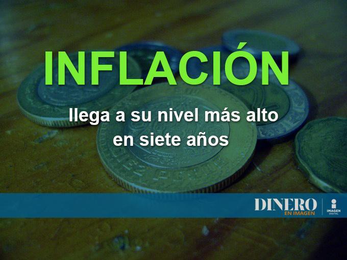 La inflación registrada durante febrero del año en curso registró un incremento anual de 4.86 por ciento. Foto: Archivo