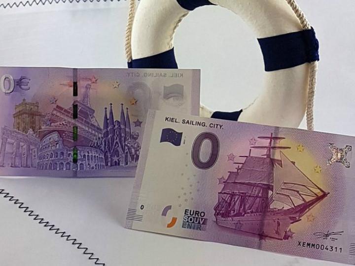 ¿Por qué Alemania puso en circulación un billete de 0 euros?