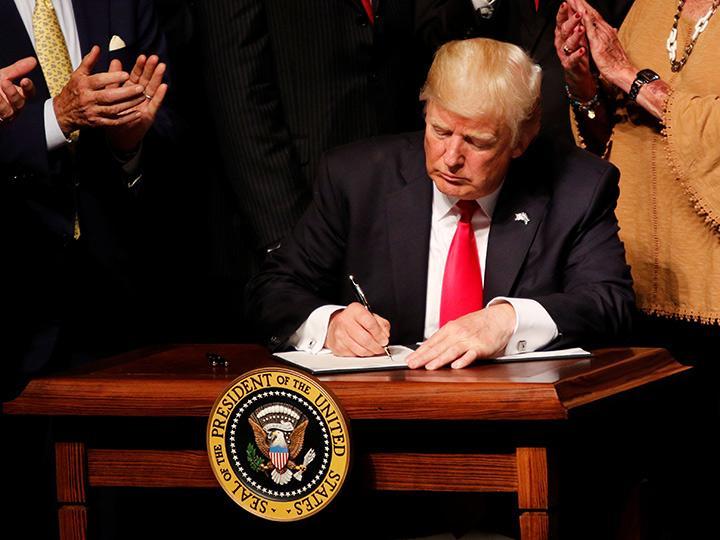 """El presidente estadounidense no tiene la intención de """"interrumpir"""" los negocios existentes. Foto: Reuters"""