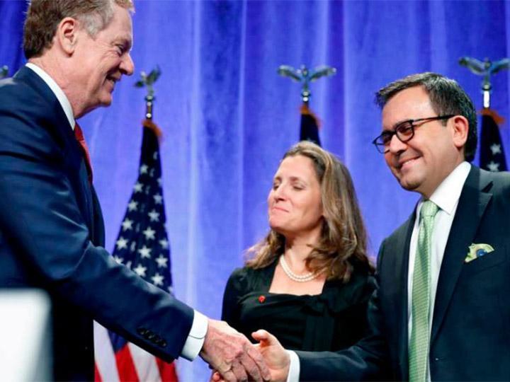 El secretario de Economía reiteró que hasta el momento existe un buen ambiente entre los comisionados de México. Foto: @ildefonsogv