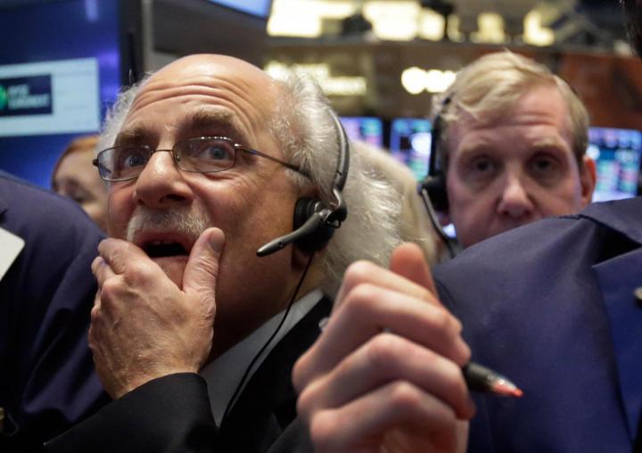 El promedio industrial Dow Jones caía 14.94 puntos. Foto: Archivo