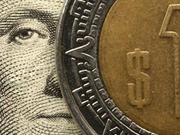 El Peso Mexicano Se Depreciaba Ligeramente Viernes Foto Archivo