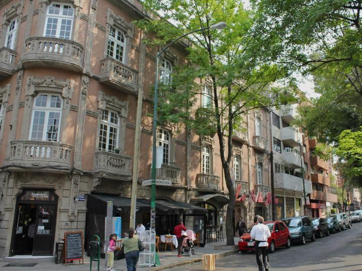 colonia roma  con los mayores incrementos en precios de departamentos