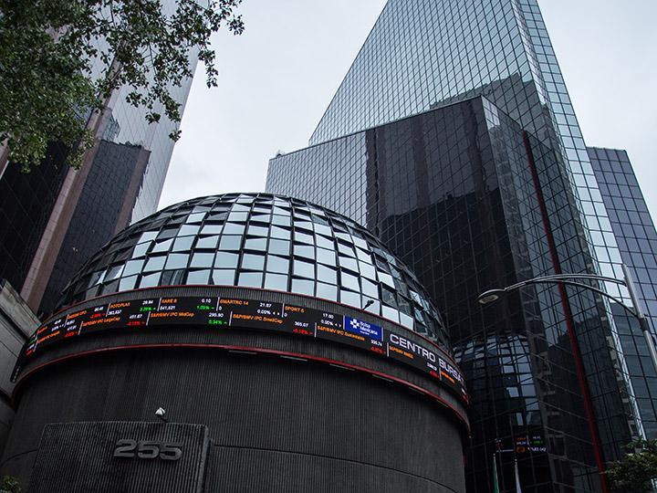 Bolsa Mexicana rompe racha positiva y pierde 0.50 por ciento