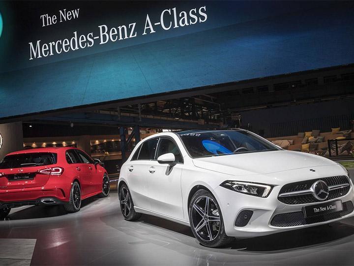 Mercedes benz decide fabricar su nuevo clase a sed n en for La mercedes benz